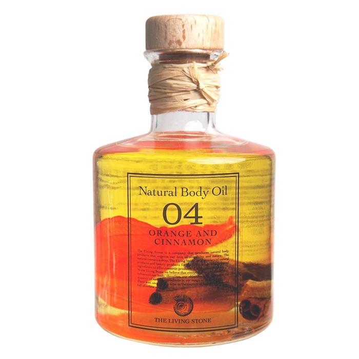 ボディオイル オレンジ&シナモン 200ml