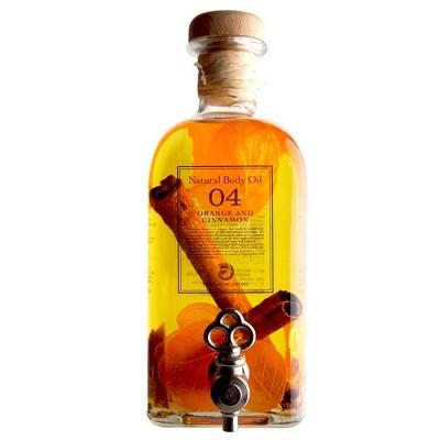 ボディオイル オレンジ&シナモン 500ml